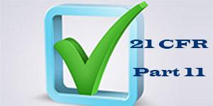 21 cfr part11 Compliance