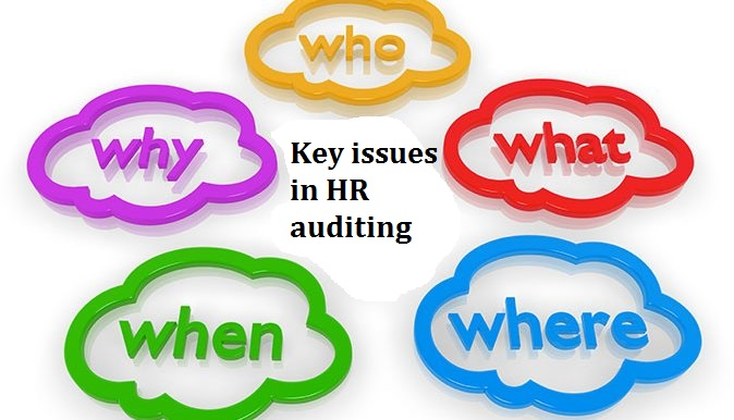 Key issues in HR auditing