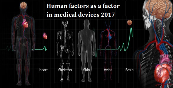 Human factors as a factor in medical devices 2017
