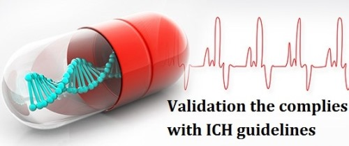Validation the complies with ICHguidelines