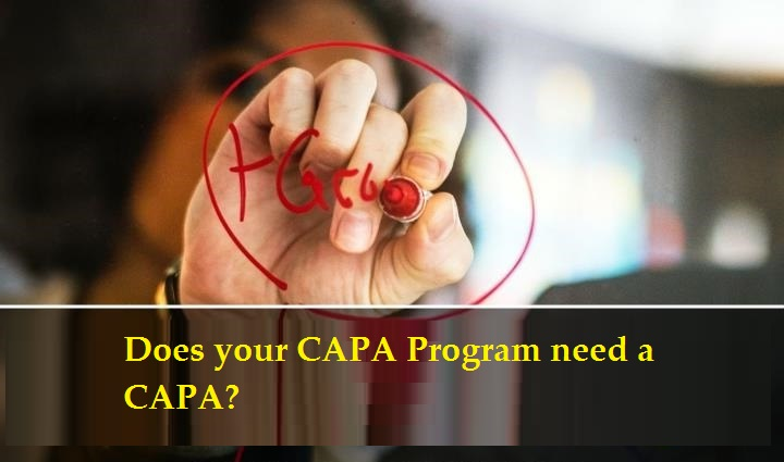 "2 Day Seminar on ""Death by CAPA – Does your CAPA Program need a CAPA?"" – GlobalCompliancePanel"